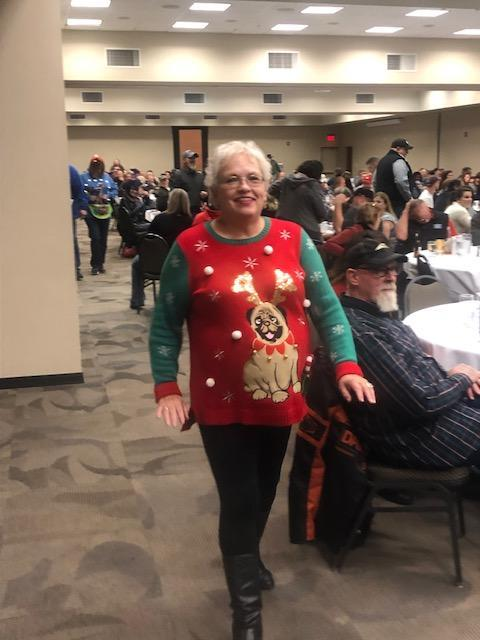 11.17.18 Ugly Sweater Contest Contestant